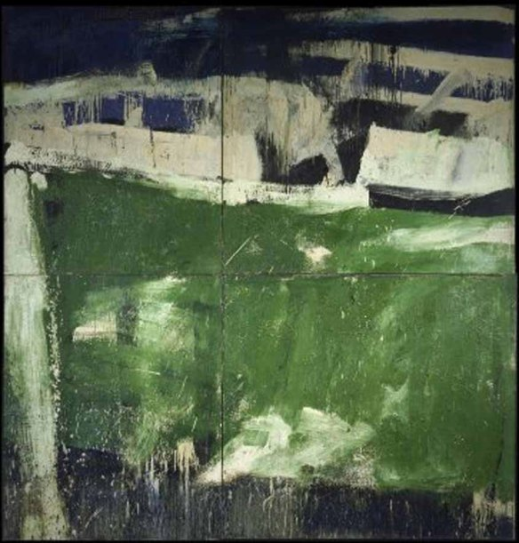 Alfred Leslie, Big Green, 1957