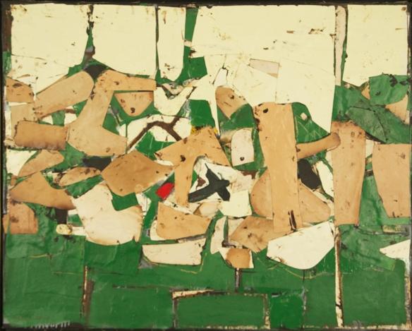 Conrad Marca-Relli, Untitled, 1958