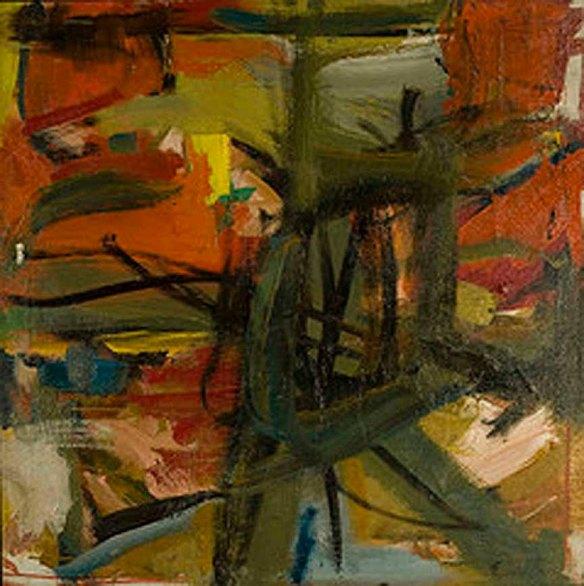 Elaine de Kooning, Untitled, 1957