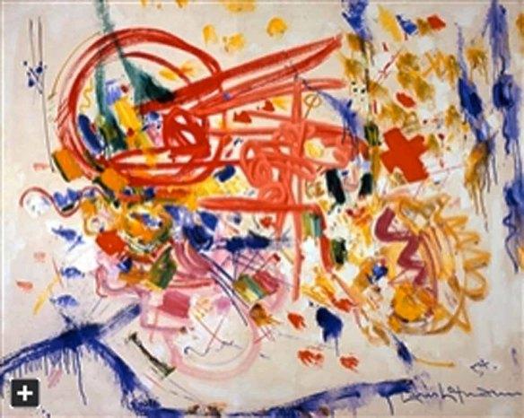 Hans Hofmann, Laburnum, 1954