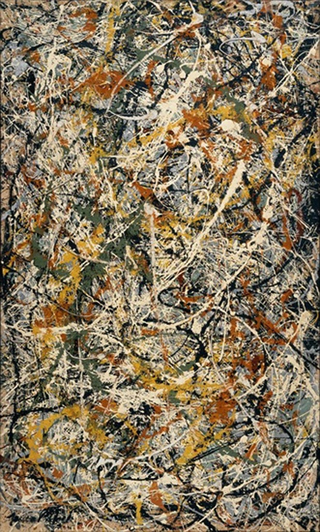 Jackson Pollock, Number 3, 1949- Tiger, 1949